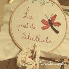 Handmade with love. Love, Handmade, Fabrics, Dragonflies, Amor, Hand Made, El Amor, Craft, Handarbeit