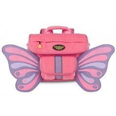 Schoolbags For Kids Butterflyer Fuzzy Flyer Back Pack