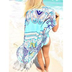 92b5b6ca0 Brand Name: sunforyou Material: Polyester style: Beach kimono style1: Beach  tunic Swimsuit