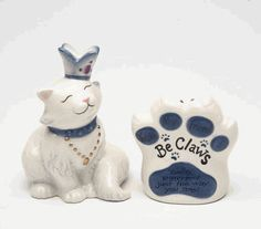 You are Perfect Cat Salt and Pepper Shakers