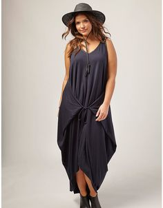Jersey High-Low Tank Dress by OTIS | Lane Bryant