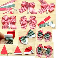 Cute bow making