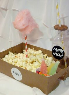 A Simple Sleepover Guide for Girls and Boys - Movie - Ideas of trending and latest movie - - 15 OLD School FOOD Tray/ with Drink Holders /SNACK/ Movie Popcorn / cotton candy / soda /HotDog/ Onion Rings /SleepOvers / Party Perfect Sleepover Snacks, Sleepover Birthday Parties, Girl Sleepover, Sleepover Crafts, Birthday Games, 13th Birthday Party Ideas For Girls, 11th Birthday, Birthday Board, Fete Audrey