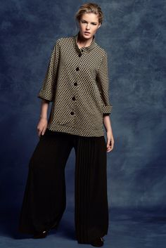KRISS Fall Collection 2014. Wide trousers with a tunic