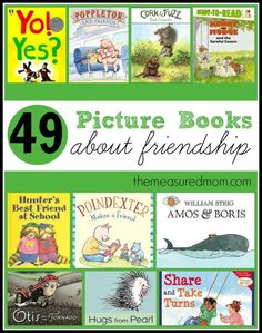A Giant List of Books about Friendship - The Measured Mom