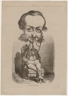 Jacques offenbach and caricatures on pinterest for Uni offenbach