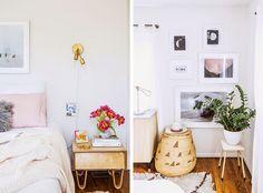 Visita A Un Dormitorio Delicado Y Muy Femenino