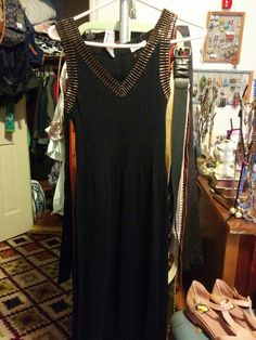 "$20 Shipped. Vintage Banff Ltd. Size 12. 40% Wool, 60% Acrylic. 14"" Waist. Stretchy, sweater material. Beautiful Dress!"