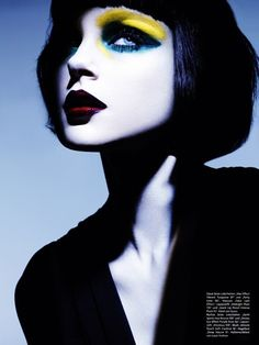 Jessica Stam photographed by Ben Hassett for Vogue Deutsch, March 2011    reblog. so pretty.