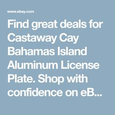 Cleaning a chevy trailblazer throttle body i6 42 things i need to castaway cay bahamas island aluminum license plate fandeluxe