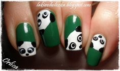 Confessions of a Polishaholic: Animalistic Nail Art Contest - my entry + China Glaze - Starboard
