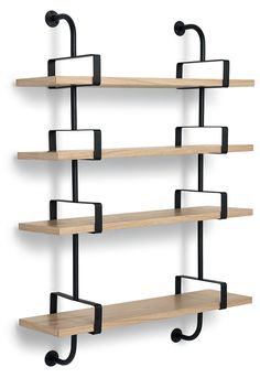 1000 ideas about etagere murale design on pinterest - Etagere bibliotheque bois ...