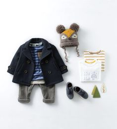 Baby boy winter outfit - Zara baby