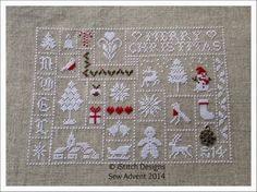 iStitch: iStitch Designs- Sew Advent 2014