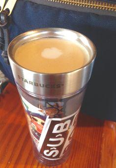 Flat White in my SubPop mug!