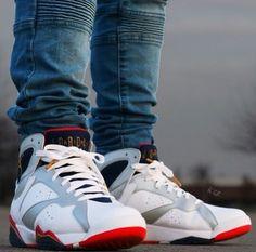 """Air Jordan 7 """"Olympic"""""""