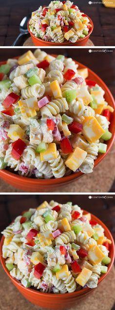 chile cheddar macaroni salad recipes dishmaps green chile cheddar ...