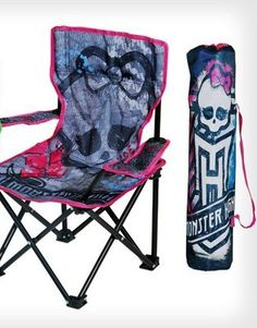 Monster High Child's Chair with tote bag