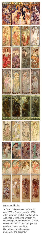 Alphonse Mucha! Favorite artist!