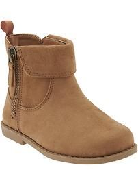 6896da845 Faux-Suede Boots in Brown for Lena to wear with any of the items chosen