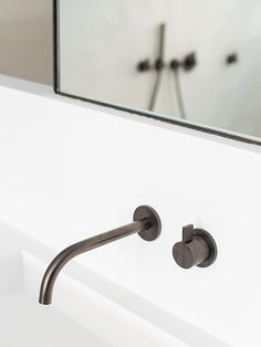 Basin & gunmetal tap by Cocoon