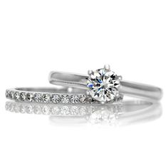 Petite Wedding Ring Set ~ Simple Yet Beautiful ...
