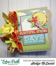 Sunny Days Ahead Mini Album by @shellyemc for #echoparkpaper