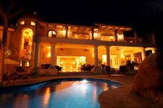 Vacation villa for your perfect getaway in Mexico. #puertovallarta #vacation Contact us for rates: http://www.playahouses.com/property/7br-sierra-del-mar-villa/