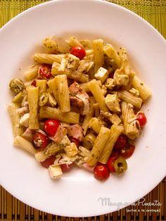 Salada de Macarrão - Manga com Pimenta