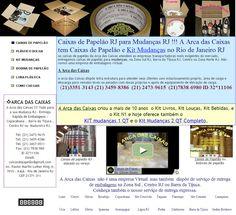 A Arca das Caixas de Papelão: CAIXAS DE PAPELÃO RIO DE JANEIRO RJ