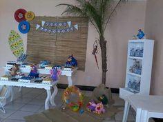 Festa Galinha Pintadinha na Praia feita por Sua Festa Organizada ( www.facebook.com/festaorganizada )