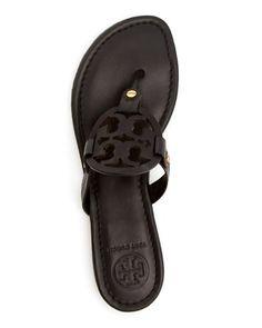 $Tory Burch Flat Thong Sandals - Miller - Bloomingdale's