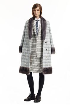 Thom Browne - Pre-Fall 2015 - Look 1 of 26  #ThomBrowne