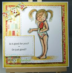 Featuring a Phyllis Harris Unity stamp set - Good For You