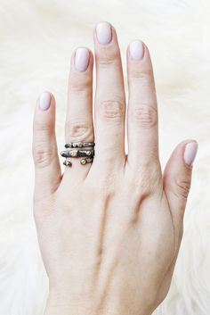 Freedom Stack Ring Set | Moorea Seal