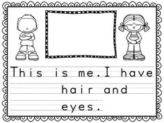 I love this book for a back-to-school assessment, Open House presentation, or sharing with new classmates! All About Me Project, All About Me Book, Kindergarten Classroom, Kindergarten Activities, Classroom Ideas, School Stuff, Back To School, September Themes, Alphabet Names