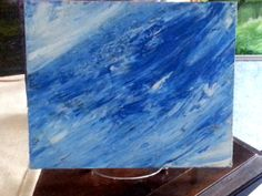 Ocean Blue 1 by JustJoszie on Etsy, $85.00 Paintings For Sale, Ocean, Studio, Unique Jewelry, Handmade Gifts, Blue, Etsy, Vintage, Art