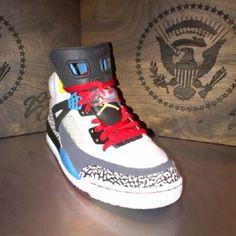 6550309aae27b3 Nike Air Jordan Spizike - Custom for Barack Obama