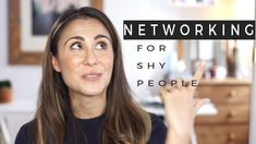 Business Networking Tips For Shy People Professional Networking, Business Networking, Small Business Marketing, Istj Personality, Different Personality Types, Business Video, Business Tips, Shy People, Search Engine Marketing