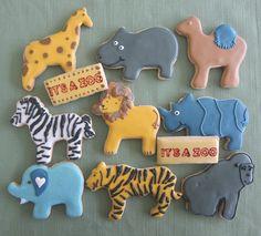 Animal Cookies, It's a Zoo!!