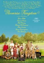 Moonrise Kingdom is set on an island off the coast of New England in the summer of 1965.  Two 12 year old pen pals fall in love through their letters, make a secret pact and then run away together into the wilderness. The authorities and his scout troop try to find him as a huge storm starts to gather off shore. Quirky and adorable.