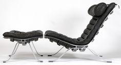Designer | Arne Norell - Norell Mobel | Ari Lounge Chair & Ottoman | Histoire