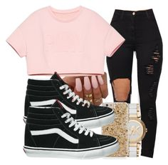 """""""Same Ol' Love"""" by brxxklyn-xo on Polyvore featuring Michael Kors and Vans"""