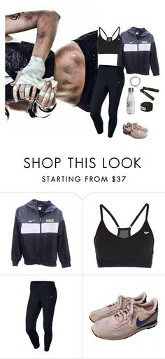 """""""did you know I fight?"""" by michcouture on Polyvore featuring Everlast, NIKE and S'well"""