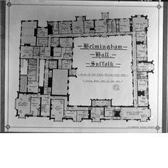 Helmingham Hall, Suffolk. 1st floor
