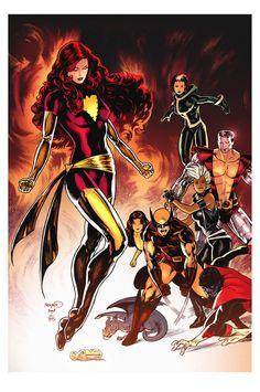 Phoenix and The X-Men
