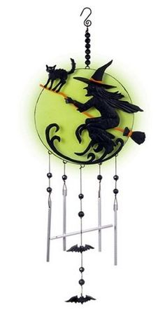 witch moon halloween glow in the dark hanging wind chimes decoration grasslands road httpwwwamazoncomdpb00fnr3de0refcm_sw_r_pi_dp_o1hlub00t1d4p