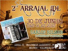 2° Arraial IDL - Banner