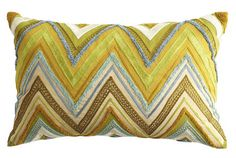 Chevron pillow from Pier One