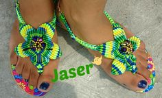 Sandalias en macrame Jaser